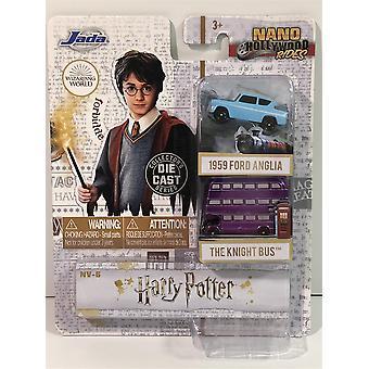 Harry Potter Ford Anglia et Knight Bus Nano Jada 31719