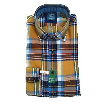 OLYMP Olymp Navy Shirt 4092 84 56