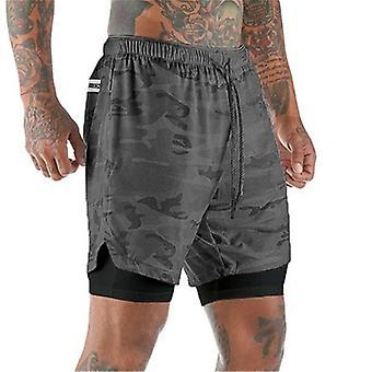 Pantalones cortos de verano para correr hombres