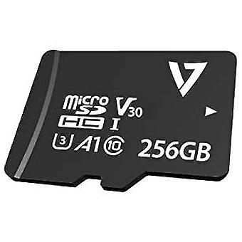 Scheda di memoria Micro SD con adattatore V7 VPMD256GU3 256 GB