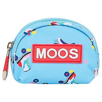 Purse Moos Rollers Multicolour Light Blue