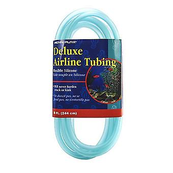"""Penn Plax Delux Airline Tubing - Silicone - 8' Long x 3/16"""" Diameter"""