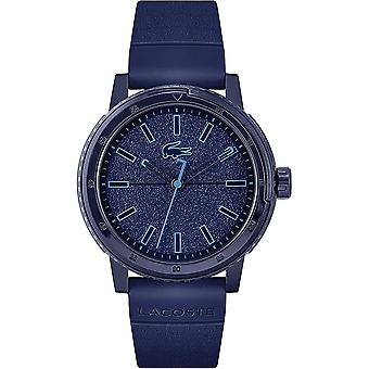 Lacoste 2011083 Men's Challenger Blue Silicone Strap Wristwatch