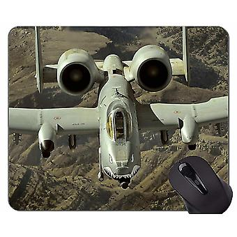 Mouse pads 300x250x3 mouse pad with stitched edge a 10 thunderbolt ii jet fighter non-slip rubber base