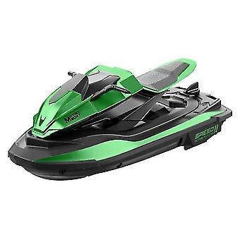 Remote control boats watercraft s9 1/14 2.4G rc boat 20mins 40m motorboat remote control boat green