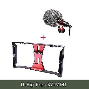 Ulanzi u-rig pro smartphone video rig w 3 boty montáže filmovací pouzdro kapesní telefon video