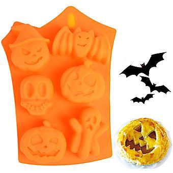 Halloween, Assemblage, Gâteau en silicone, Fudge au chocolat