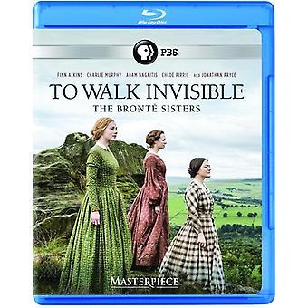 Meisterwerk: Zu Fuß unsichtbar - Bronte Schwestern [Blu-Ray] USA import