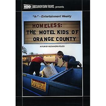 Hjemløse: Motel barna Orange County (2010) [DVD] USA import