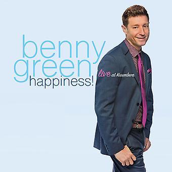 Benny Green - Happiness! Live at Kuumbwa [CD] USA import