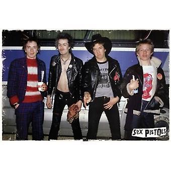 Sex Pistols - Gruppe-Poster-Plakat-Druck