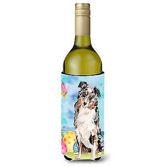 Pastor australiano Páscoa garrafa de vinho Beverge isolador Hugger