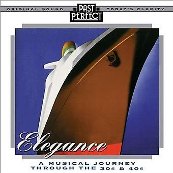 Elegance: A Musical Journey Thru' the 30s&40s Audio CD Various Artists