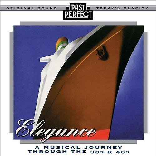 Elegantie: Een muzikale reis door middel van ' de 30s & 40s Audio-CD Various Artists