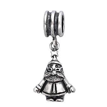 Santa Claus - 925 Sterling Silver ren perler - W28223X