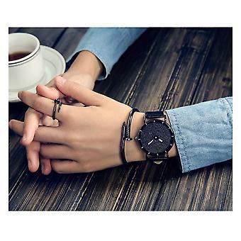 Intelligente Sparkle Funkeln Watch schwarz glänzend