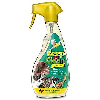 Supreme Keep It Clean desinfektionsmiddel hund kat hygiejne 500ml citron