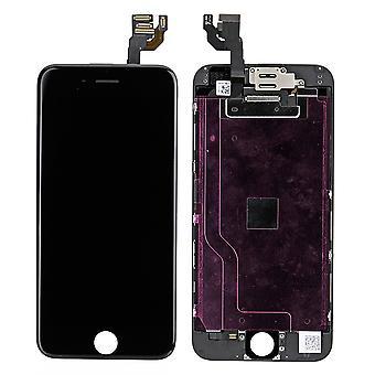 Dla iPhone 6 pełny ekran LCD - czarny - najwyższej jakości