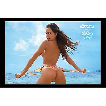 Sports Illustrated - Alexis Ren 18 Poster afdrukken
