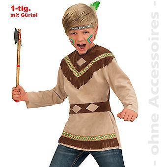 Fantasia indiana manitu crianças apache traje infantil