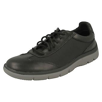 Mens Clarks Casual Lace Up Trainers Tunsil Ridge