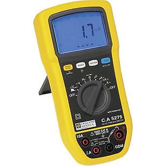 Chauvin Arnoux C.A 5275 Handheld multimeter Digital Splashproof (IP54) CAT III 1000 V, CAT IV 600 V Display (counts): 6000