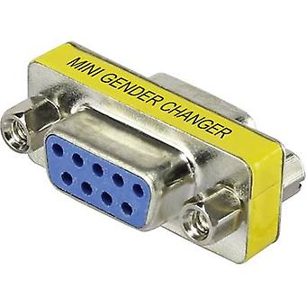 Adattatore Serie Renkforce [1x D-SUB socket 9 pin - 1x D-SUB socket 9-pin] 0 m Giallo