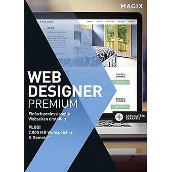 MAGIX Web Designer Premium täysversio, 1 lisenssi Windows Website design