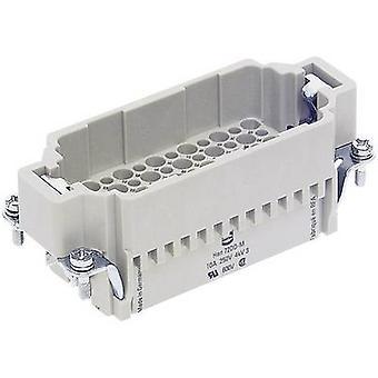 Harting 09 16 072 3001-1 Pin innset Han® DD 72 + PE Krympe 1 stk(er)