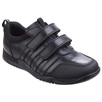 Hush szczenięta dla dzieci/chłopcy Josh Snr dotykowy mocujących skórzane buty