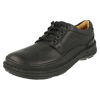 Mens Clarks Active Air Lace Up Shoes Nature Three