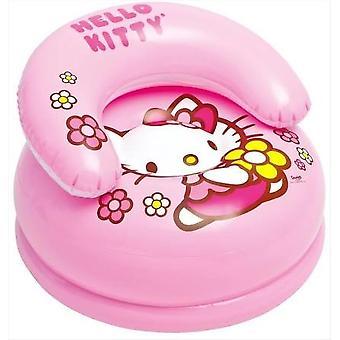 Hello Kitty oppustelige barnestol