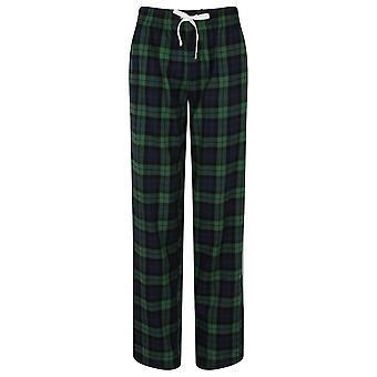 Skinnifit Womens/Ladies Tartan Lounge Pants