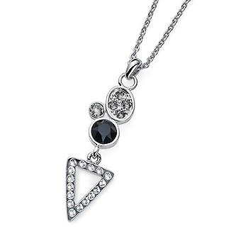 Oliver Weber Pendant Send Rhodium, Black