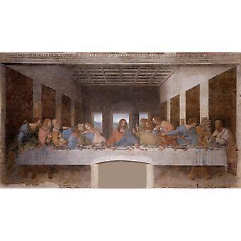 Abendmahl, LEONARDO da Vinci, 80x40cm