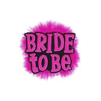Sposa per essere distintivo-nero