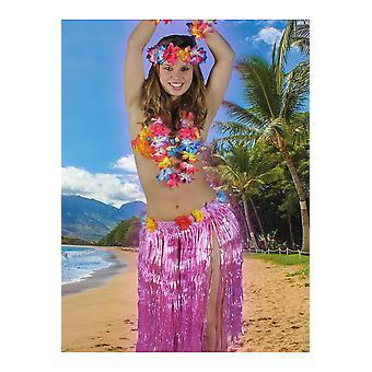 Hawai y Hawaii tropical de mujeres falda fucsia