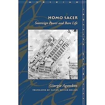 Homo Sacer: Suvereeni valta ja paljas elämä (Meridian: Crossing estetiikka)