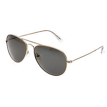 Bertha Brooke Polarized Sunglasses - Rose Gold/Brown