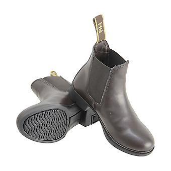 هايلاند الكبار الاصطناعية بيفيرلي جودبور أحذية جلدية كومبي