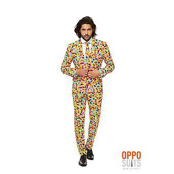 Confetteroni confetti party suit Opposuit slimline Premium 3-piece EU SIZES