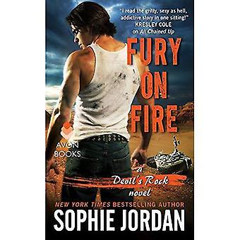 Raseri i brand: en djävulens Rock roman (Devil's Rock)
