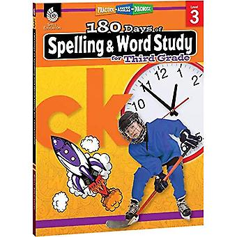 180 Days of Spelling and Word Study for Third Grade� (Grade 3): Practice, Assess, Diagnose