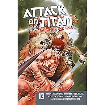 Attaque sur Titan: avant la chute de 13