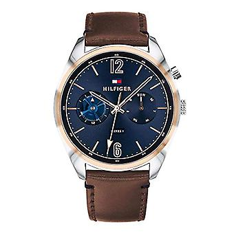 Reloj Tommy Hilfiger cuarzo dial de varios hombres con cuero 1791549