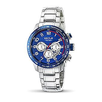 Sector men's analog quartz watch with stainless steel band R3273975001