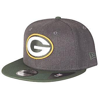 New era 9Fifty Snapback Cap - HEATHER Green Bay Packers