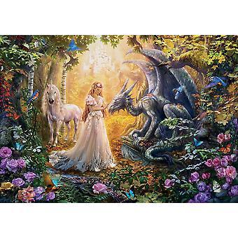 Educa Dragon, Princess And Unicorn  Jigsaw Puzzle (1500 Pieces)