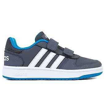 Adidas Hoops 20 Cmf C F35893 zapatos universales para niños todo el año