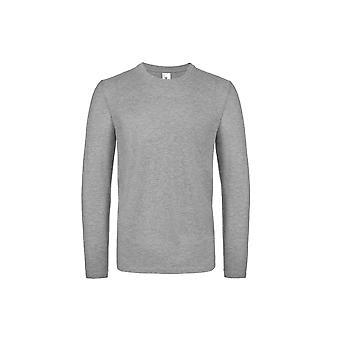 B&C Mens #E150 Long Sleeve T-Shirt